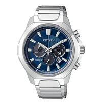 Citizen crono super titanium 4320 ca4320-51l orologio uomo eco drive cronografo
