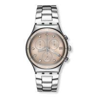 Swatch / irony / classy shine / orologio unisex / quadrante grigio / cassa acciaio / bracciale acciaio