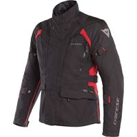 Dainese giacca moto touring Dainese x-tourer d-dry 3 strati nero nero rosso