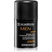 Academie men balsamo idratante attivo effetto opaco 50 ml
