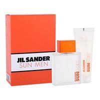 Jil Sander sun for men confezione regalo eau de toilette 75 ml + doccia gel 75 ml per uomo