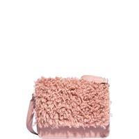 Nalì borsa tracollina peluche rosa ybs0325 colore rosa colore rosa