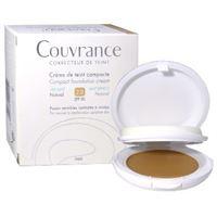 Avene (pierre Fabre It.) eau thermale avene couvrance crema compatta colorata nf oil free naturale 9, 5 g