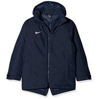 Nike dry academy 18 giacca con cappuccio, unisex bambini, obsidian/obsidian/white, s