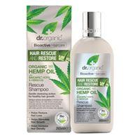 Dr. Organic rescue shampoo shampoo capelli 265ml