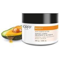KORFF (DIV. IST. GANASSINI) korff body scrub corpo delicato e nutriente 250 g