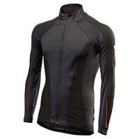 SIXS maglia intima sixs windshell nero rosso