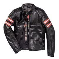 Dainese giacca in pelle traforata rapida72 nero