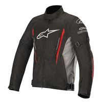 Alpinestars giacca gunner v2 waterproof nero rosso