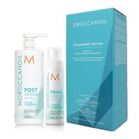 Moroccanoil chroma. Tech service kit - prime 160 + post 1000 ml