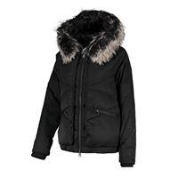 COLMAR ORIGINALS giacca over in raso con cappuccio donna