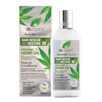 Dr. Organic rescue conditioner balsamo capelli 265ml