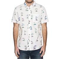 Globe camicia a maniche corte Globe shroom shirt blanc