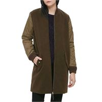 Obey giacca Obey birmingham coat jacket wo's heather army