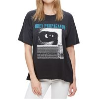 Obey t-shirt Obey far too frail lite lester dusty black