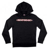Independent felpa Independent youth hoody bar cross