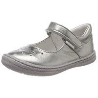 Primigi ptf 14331, ballerine punta chiusa bambina, grigio (alluminio), 25 eu