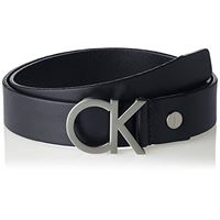 Calvin Klein ck adj. Buckle belt cintura, marrone (turkish coffe 201), 9 (taglia produttore: 105) uomo