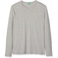 United Colors of Benetton t-shirt l/s nero 100), el (taglia produttore: el) uomo