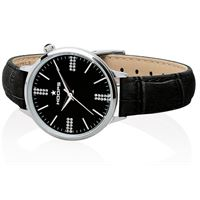Hoops orologio hoops classic chic silver black 2609ld-s06
