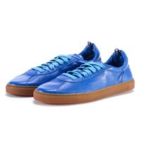 MANOVIA 52 scarpe donna sneakers pelle blu positano MANOVIA 52