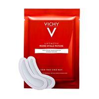 Vichy linea liftactiv micro hyalu 2 patch notte occhi anti-rughe profonde