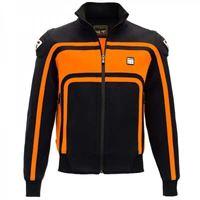 Blauer ht - giubbotto moto tessuto blauer ht easy rider orange
