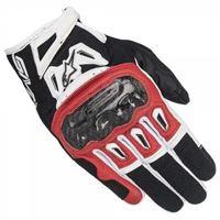 Alpinestars - guanti moto Alpinestars smx-2 air carbon v2 nero rosso