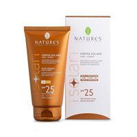 Bios Line nature's crema solare viso-corpo con acqua unicellulare bio-attiva di arancia dolce bio e succo di albicocca spf 25 150 ml