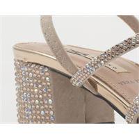 06 MILANO sandali alti donna rosa