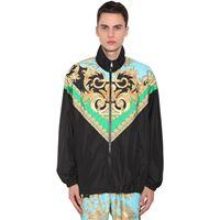 VERSACE giacca heritage in nylon