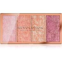 Makeup Revolution vintage lace palette di blush 4 x 5 g