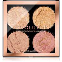 Makeup Revolution cheek kit palette per il viso colore fresh perspective 4 x 2,2 g
