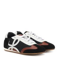 Loewe sneakers ballet runner in pelle e tessuto