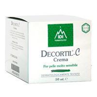 IDI Farmaceutici linea cosmetica decortil c trattamento idratante 50 ml