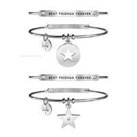 Kidult love 231656 gioiello donna bracciale acciaio