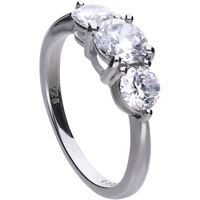 Diamonfire anello donna gioielli Diamonfire carats 61/1888/1/082/175