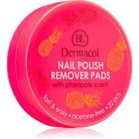 Dermacol nail polish remover pads levasmalto inodore 32 pz