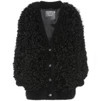 Miu Miu giacca in shearling