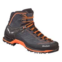 Salewa mtn trainer mid goretex eu 44 1/2 asphalt / fluo orange