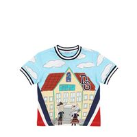 DOLCE & GABBANA t-shirt in jersey di cotone stampato