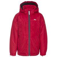 Trespass nicol warm padded waterproof winter, giacca bambino, red, taglia 11/12