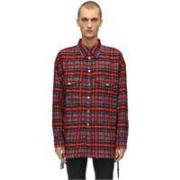 FAITH CONNEXION giacca oversize in misto lana check