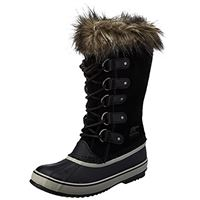 Sorel joan of arctic, stivali invernali donna, nero black quarry 010, 42 eu