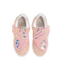 SOPHIA WEBSTER sneakers butterfly in pelle glitter