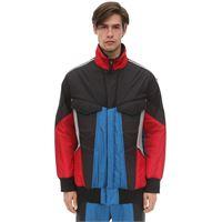 Y-3 giacca in primaloft color block