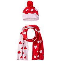 Joules snowy, set sciarpa, guanti e cappello bambina, multicolore (multi stripe multstripe), 8 - 12 anni