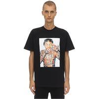 IH NOM UH NIT t-shirt tribal lil wayne in jersey di cotone