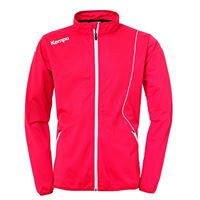 Kempa curve classic jacke, giacca uomo, rosso/bianco, m