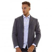 Sun68 formal texture jacket 4707 grigio scuro/ giacca uomo